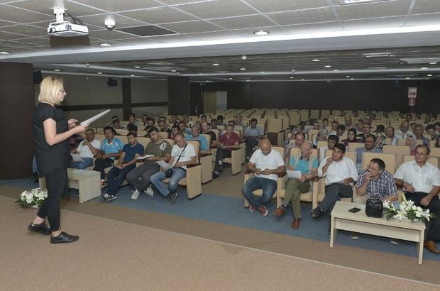 KMÜ'de temel iş güvenliği eğitimi