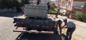 Ayvalık Belediyesi'nden 150 Evlere asfalt ve bordür
