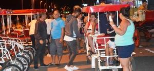 Küçükköyspor'dan turizme bisikletli destek