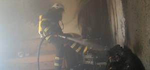 İkamet yangını korkuya neden oldu