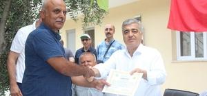 Adana'da 55 aileye badem ormanı