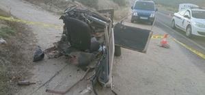 Araçlar metal yığınına döndü, sürücülerden biri hayatını kaybetti