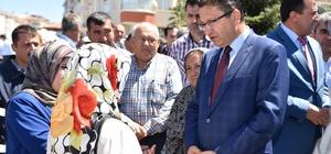 Altındağ Hacı Bektaş-ı Veli Camii açıldı
