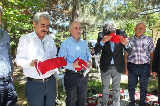 Karaman'da şehit aileleri ve gaziler için piknik düzenlendi