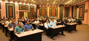 Melikgazi Belediyesi tarafından hizmet içi eğitim seminerleri devam ediyor