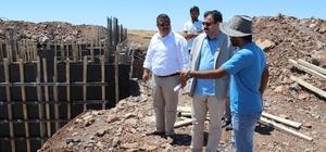 İl Milli Eğitim Müdürü Turan, Siverek'te okul inşaatlarını inceledi