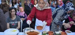 Gediz'de 'en güzel tarhana pişirme' yarışması
