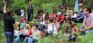 Üniversiteden 130 çocuğa doğa ve bilim eğitimi