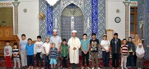 Selçuklu'da çocuklar camileri dolduruyor
