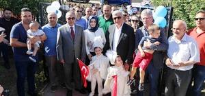Başkan Karaosmanoğlu, Şehit çocuklarını yalnız bırakmadı