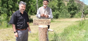 66 yaşında özürlü maaşıyla şehitlere çeşme yaptırdı