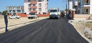 Ahmet Bedevi Mahallesinde asfalt çalışması