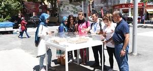 Nasrullah Meydanı proje maketine büyük ilgi