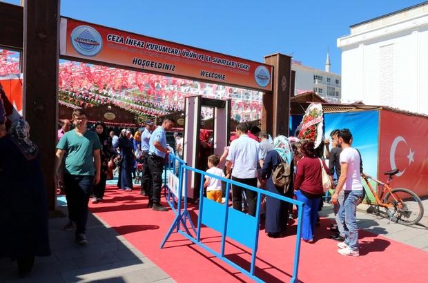 Yozgat'ta mahkumlar sergi açtı