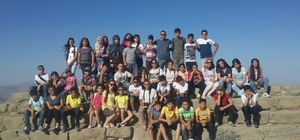 Gölbaşı Doğa Parkında yaz kampı düzenlendi
