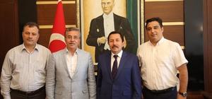 Başkan Çetin'den Sakarya'ya ziyaret