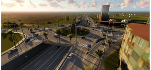 Alaşehir'de trafiği rahatlatacak kavşak projesi başlıyor
