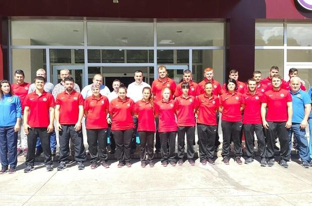 Şampiyonalara Rize'de hazırlanıyorlar