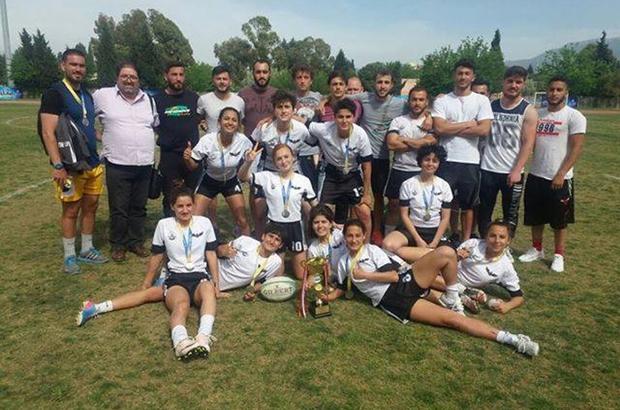 TÜ Kadın Ragbi Takımı Türkiye ikincisi oldu