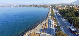 Narlıdere-Sahilevleri Kıyı Projesinde sona yaklaşıldı