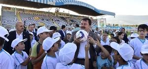 Kahramanmaraş'ta yaz spor okulu açıldı