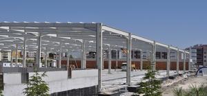 Cihanbeyli'de kapalı pazar alanı tamamlanıyor