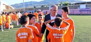 Bingöl'de yaz futbol kursu
