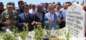 Diyarbakır'da 15 Temmuz şehitlerinin mezarları ziyaret edildi
