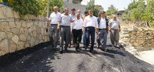 Başkan Pamuk, mahalle ziyaretlerine başladı