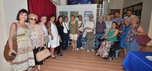 Foça'da engelli vatandaşlar yararına resim sergisi