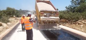 Silifke Belediyesi'nden asfalt ve parke çalışması