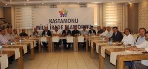 Milli İrade Platformu Dönem Başkanı Mehmet Butur;