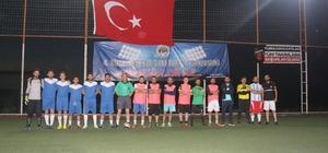 Yetenek avcıları İnönü Futbol Turnuvası'nda