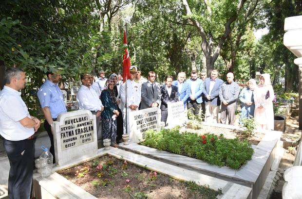 Tuzla'da 15 Temmuz anma programları, şehitlik ziyaretleriyle başladı