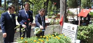 Srebrenitsa için Türk ve Bosnalı yetkililer bir araya geldi