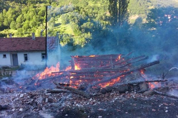 Bayramda çıkan yangında yaralanan yaşlı kadın hayatını kaybetti