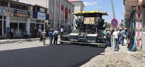 Tutak ilçesi asfalt çalışmaları