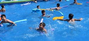 Kızıltepe'de 'Yüzme Bilmeyen Çocuk Kalmasın' projesi