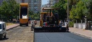 Fener Mahallesine sıcak asfalt