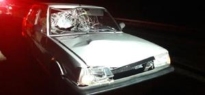 Otomobil yaya çarptı: 1 yaralı