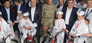 Amasya'da sünnet şöleni