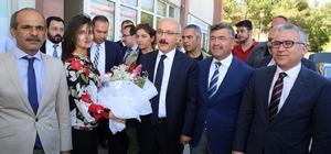 Kalkınma Bakanı Lütfi Elvan Başkan Akdoğan'ı ziyaret etti