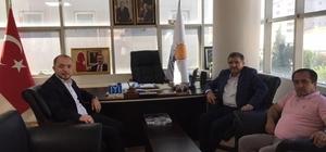 Kocaeli Milletvekili Şeker'den İl Başkanı Karabıyık'a ziyaret