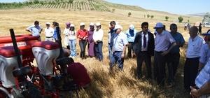 Kırıkkale'de doğrudan ekim uygulaması başladı