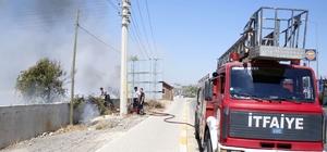 Antalya'da ot çalı yangını korkuttu