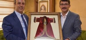 Başsavcı Şimşek'ten Başkan Çelik'e veda ziyareti