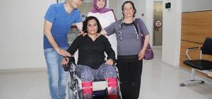Edremit Kaymakamlığından engelli vatandaşa akülü sandalye