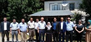 Daday'da 15 Temmuz etkinlikleri şehit mezarı ziyaretiyle başladı