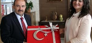 Vali İsmail Ustaoğlu'na ziyaretler devam ediyor