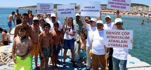 """Büyükşehir'den mavi bayraklı plajlarda """"Çevre Bilinçlendirme"""" etkinliği"""